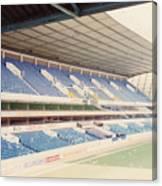 Tottenham - White Hart Lane - West Stand 4 - April 1991 Canvas Print