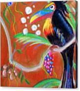Toucanwine Bird Canvas Print