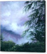 Touch Of Blue Canvas Print