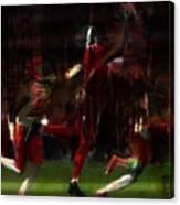 Touchdown Canvas Print