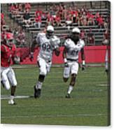 Rutgers Touchdown - Janarion Grant Canvas Print