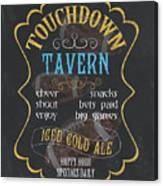 Touchdown Tavern Canvas Print