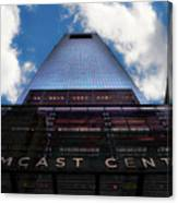 Touching The Sky - Comcast Center Canvas Print