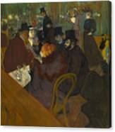 Toulouse-lautrec Moulin Rouge Canvas Print