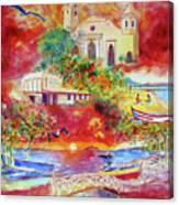 Tour Around Aguadilla Puerto Rico Canvas Print