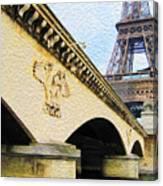 Tour De Eiffel Canvas Print