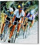 Tour De Force Canvas Print