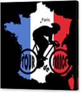 Tour De France 3 Canvas Print
