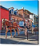 Touring The French Quarter Canvas Print