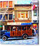 Touring The Streets Of San Francisco . Photo Artwork Canvas Print