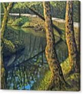 Tow Path Canvas Print