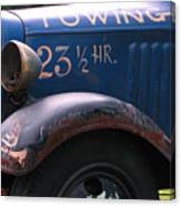 Tow Truck- 4 Canvas Print