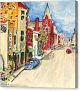 Towanda Pa Canvas Print