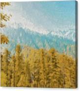 Towards Abshaar Northern Pakistan Near Nathiagali Canvas Print