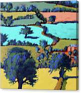 Towards Ledbury II Canvas Print