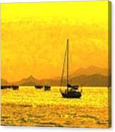 Towards Nevis Canvas Print