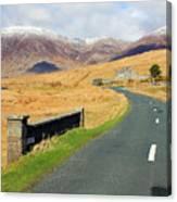 Towards The Mountain Canvas Print