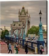 Towards Tower Bridge, London  Canvas Print