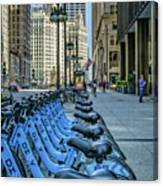 Towards Wrigley Building Canvas Print