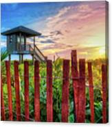 Tower At The Dunes Canvas Print