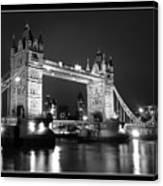 Tower Bridge London. Canvas Print