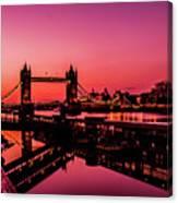 Tower Bridge, London. Canvas Print