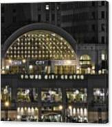 Tower City Close Up Canvas Print