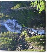 Tower Falls Canvas Print