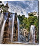 Tower Of Fountain Canvas Print