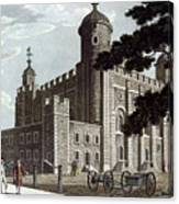 Tower Of London, 1799 Canvas Print