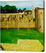 Tower Of London  Study  Canvas Print