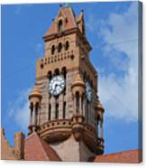 Tower Of The Decatur Courthouse  Canvas Print