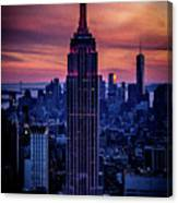 Tower Of Towers Canvas Print