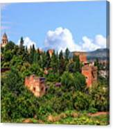 Towers Of The Alhambra Canvas Print