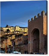 Town Of Assisi, Italy Canvas Print