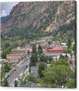 Town Of Ouray Canvas Print