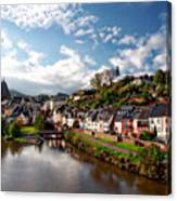 Town Of Saarburg Canvas Print