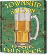 Township Saloon Canvas Print