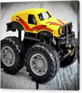 Toy Monster Truck Canvas Print