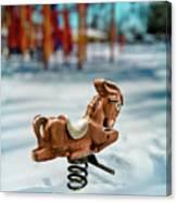 Toy Mule Canvas Print