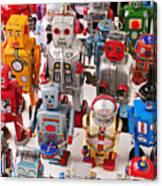 Toy Robots Canvas Print