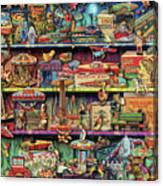 Toy Wonderama Canvas Print
