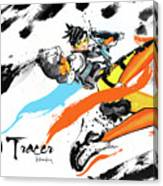 Tracer Overwatch Canvas Print