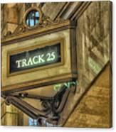 Track 25 Canvas Print