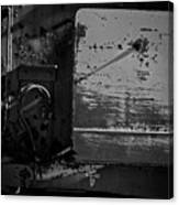 Track Plow Canvas Print