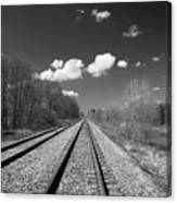 Tracks To Nowhere 1520 Canvas Print