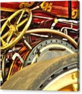 Traction Engine Steering Mechanism Canvas Print