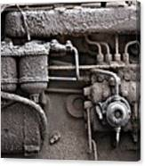 Tractor Engine II Canvas Print