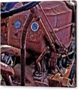 Tractor Parts Canvas Print
