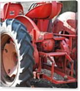 Tractor Canvas Print